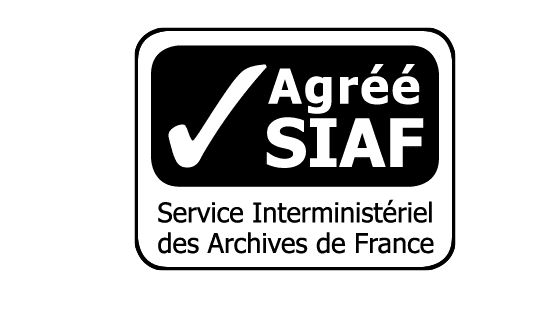 Logo SIAF certified for keeping physical public archives